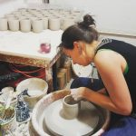 Gallery images of potter Cheryl Coture's pottery