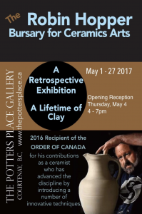 Robin Hopper Bursary for Ceramic Arts